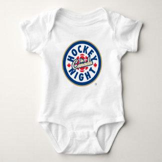 Body Nuit d'hockey dans le logo du Canada