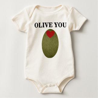 Body Olive vous plante grimpante de bébé