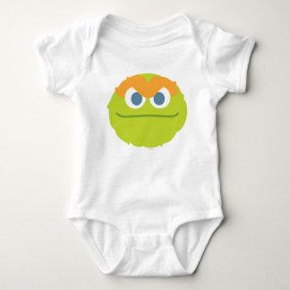 Body Oscar de bébé le grand visage de rouspéteur
