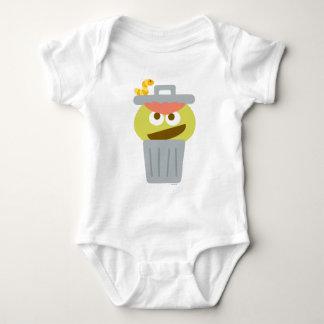 Body Oscar de bébé le rouspéteur dans la poubelle