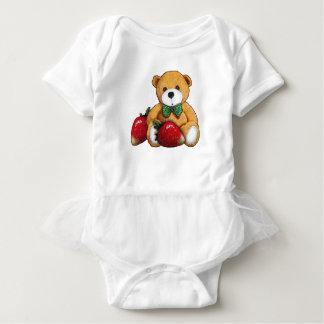 Body Ours de nounours avec des fraises, coloré original