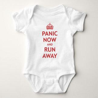 Body Panique maintenant et course loin