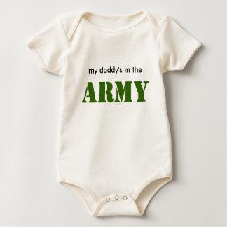 Body Papa d'ARMÉE de bébé