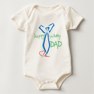 Body papa de joyeux anniversaire