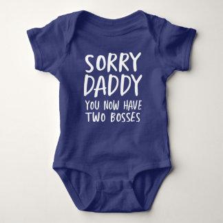 Body Papa désolé, vous avez maintenant deux patrons