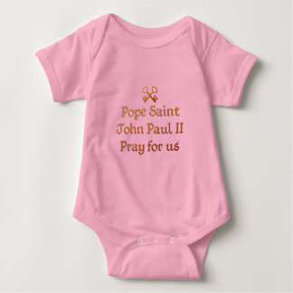 Body Pape St John Paul II prient pour nous