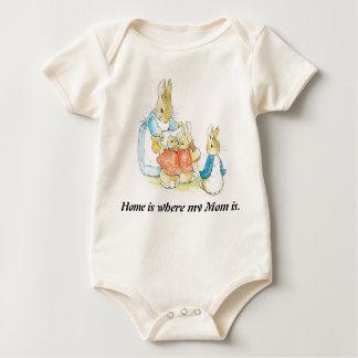 Body Pâques, combinaison de bébé de potier de Béatrix