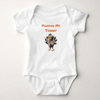 Body Pardonnez ma combinaison de bébé de la Turquie