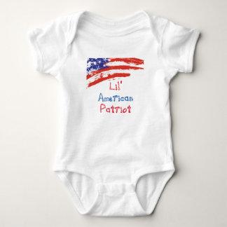 Body Patriote d'Américain de Lil