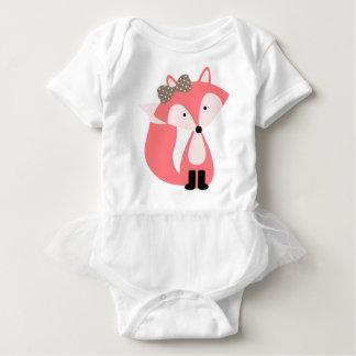 Body Petit Fox doux de rose