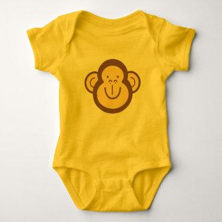 Body Petit visage mignon de singe