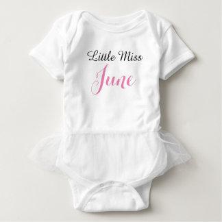 Body Petite combinaison de tutu de bébé de Mlle juin