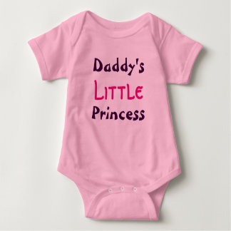 Body Petite princesse Infant Shirt du papa