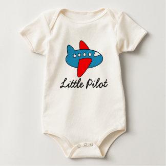 Body Petite salopette pilote de bébé avec la bande