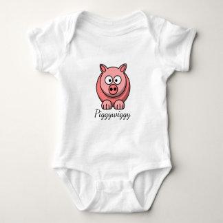 Body PiggyWiggy peu de porcelet mignon en pastel de