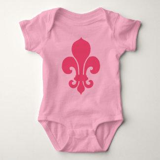 Body Pink Fleur de Lis