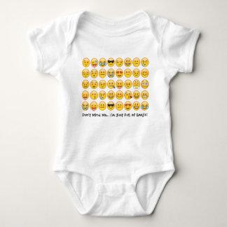 Body Plante grimpante de combinaison de bébé d'Emoji