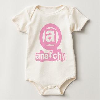 Body Plante grimpante rose de bébé d'anarchie