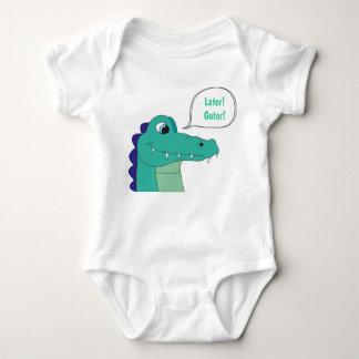 Body Plus tard ! Alligator ! Combinaison de bébé