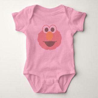 Body Point de polka de visage d'Elmo de bébé grand