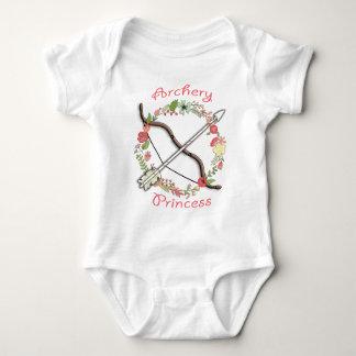 Body Princesse de fleur de tir à l'arc