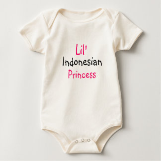 Body Princesse indonésienne