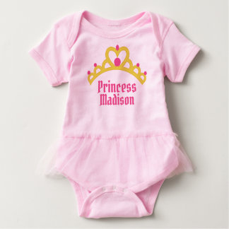 Body Princesse personnalisée de ballerine