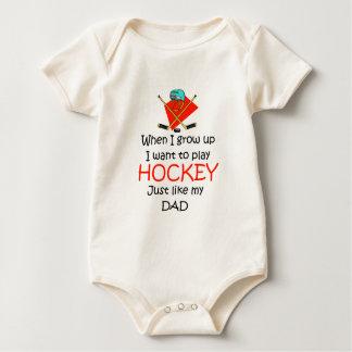 Body Quand je grandis le hockey sur glace