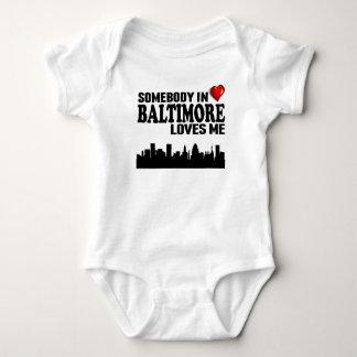 Body Quelqu'un à Baltimore m'aime