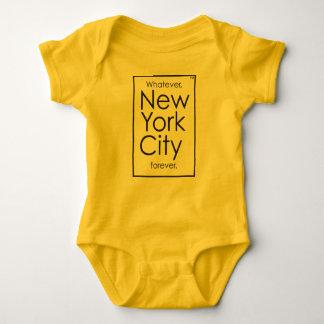 Body Quoi que, New York City pour toujours
