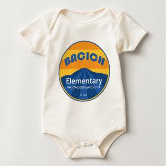 Body Rayures d'école de Bacich