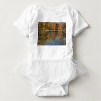 Body Réflexions colorées d'étang d'automne