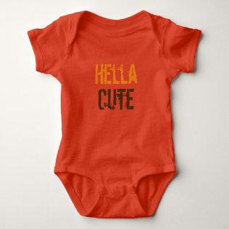 Body Romper «Hella cute».