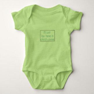 Body Salopette de bébé de la pose de l'enfant