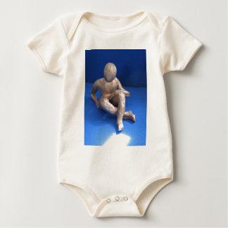 Body sculpture raku homme