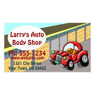Body Shop automatique Carte De Visite