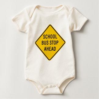 Body Signe de route d'arrêt d'autobus scolaire