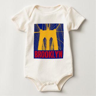 Body Silhouette de pont de Brooklyn