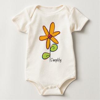 Body Simplifiez : Une fleur lunatique sur un organique