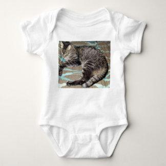 Body Sommeil Kitty ; Chat tigré de tigre ; Chat