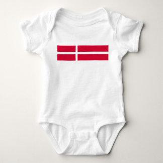 Body Symbole de drapeau de pays du Danemark longtemps