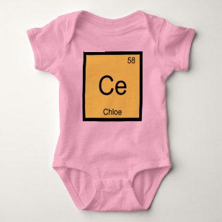 Body Tableau périodique d'élément nommé de chimie de