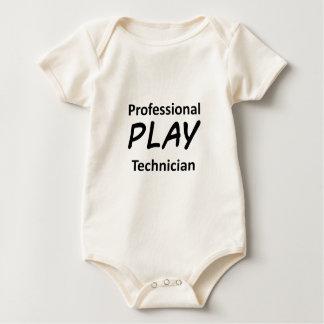 Body Technicien professionnel de jeu