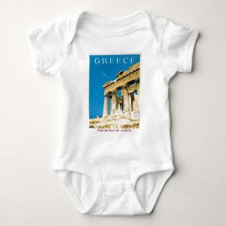 Body Temple vintage de parthenon d'Athènes Grèce de