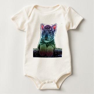 Body tigre multi colors