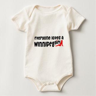 Body Tout le monde aime une fille de Winnipeg