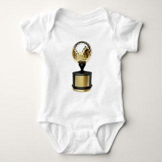 Body Trophée d'or avec la boule de golf
