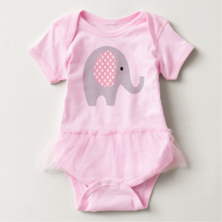 Body Tutu d'une seule pièce avec l'éléphant adorable