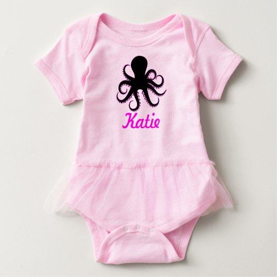 Body Tutu nommé de bébé de poulpe