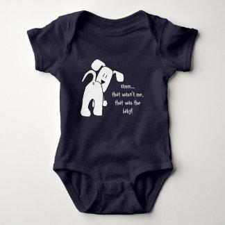 Body Un chien qui combinaison drôle de bébé de garçon